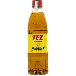 Oil (mustard oil.100% natural.tez brand .mumbai. india)