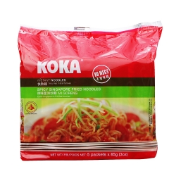 Instant Noodles Spicy Singapore Fried Flavour (Koka)