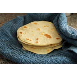 Ruti / Chapati / Flour Tortillas <Big>Authentic Mexican foods><12 Pieces>744Gmx3pac=2232Gm>manufactured by an American company