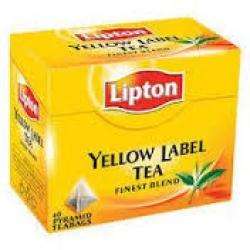 TEA  <LIPTON  TEA> <YELLOW LABEL TEA><QUALITY NO !><50  TEA BAG><100  GM><PRODUCT OF SRILANKA>