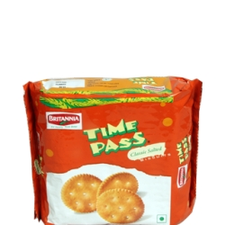 Biscuits / Time Pass  ( Product of India ) `~ Weight  79 Gm
