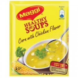 Chicken CORN Soup (Maggi) (CORN with chicken flavour