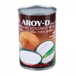 Coconut Milk (Aroy-D / TEPTIP)400ml Imported from Thailand. ***This is the unsweetened liquid extracted from coconuts...
