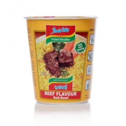 Cup Noodles Beef  Flavor ( Indomie)  Product of Indonesia  Package size ;55 gm
