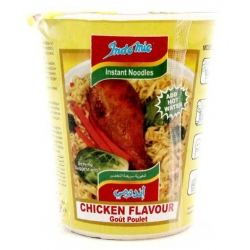 Cup Noodles Chicken curry  Flavor ( Indomie)  Product of Indonesia  Package size ;55 gm
