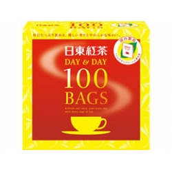 TEA  bags <  DAY AND DAY><50 TEA BAGS><INDO AND SRILANKA>