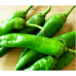 CHILLY  <GREEN><FRESH>< HOT>< WITH NATIVE>< DESHI  FLAVOUR><IMPORTED BY KOREA><FLUCTUATES IN DIFFERENT SEASON