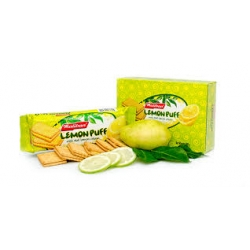 Biscuits /Maliban  Lemon Puff ~With lemon Cream ( Product of Srilanka ) `~ Weight  200 Gm